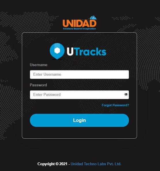 UTracks Mobile App Image